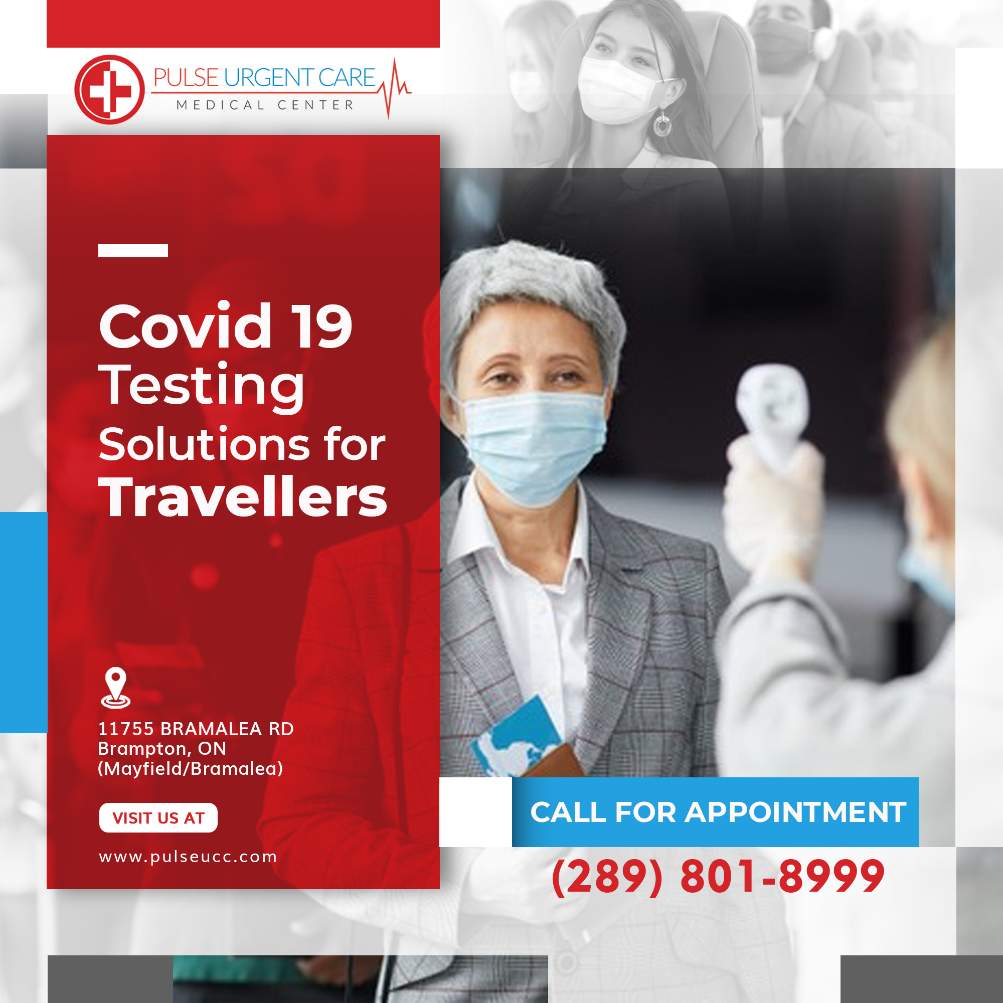 Covid-19 Testing Is Now Available at the Bramalea Location