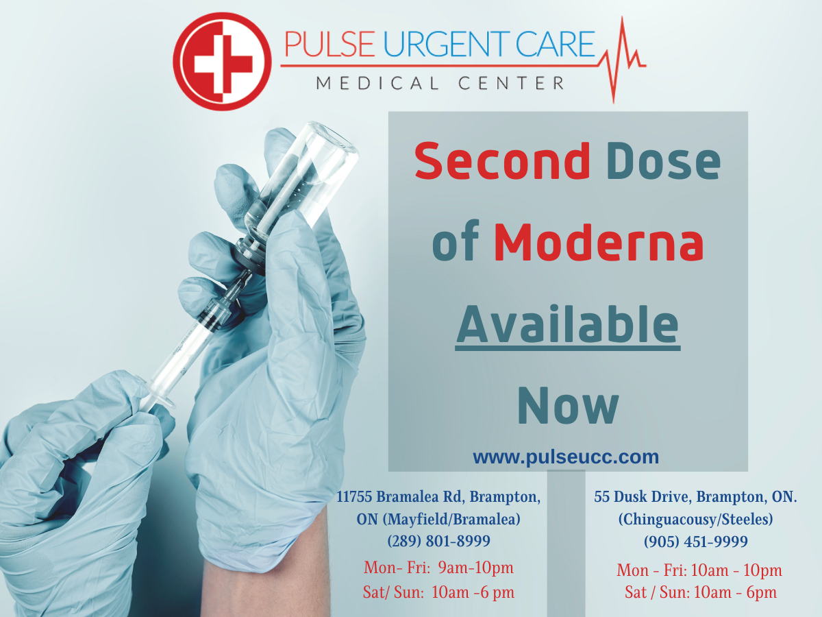 You are currently viewing Second dose of Moderna Vaccine available